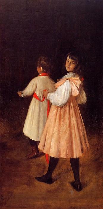 At Play. William Merritt Chase