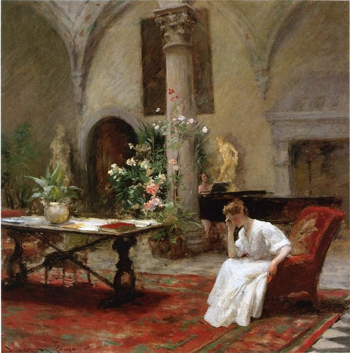 The Song. William Merritt Chase