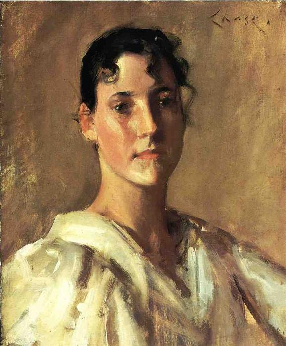 Portrait of a Woman. William Merritt Chase