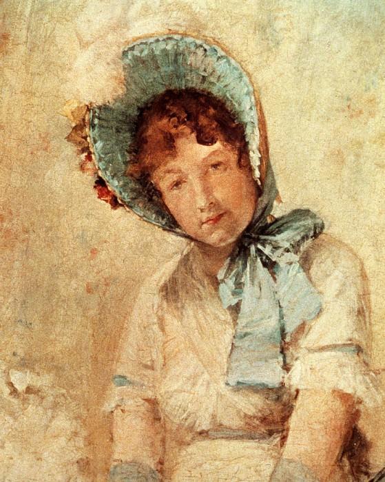 Portrait Of Harriet Hubbard Ayers. William Merritt Chase