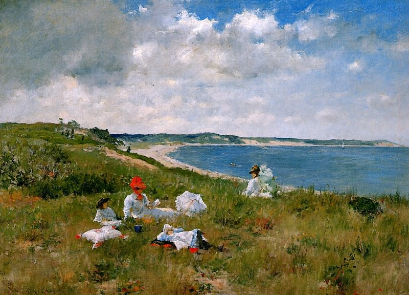 Idle hours. William Merritt Chase