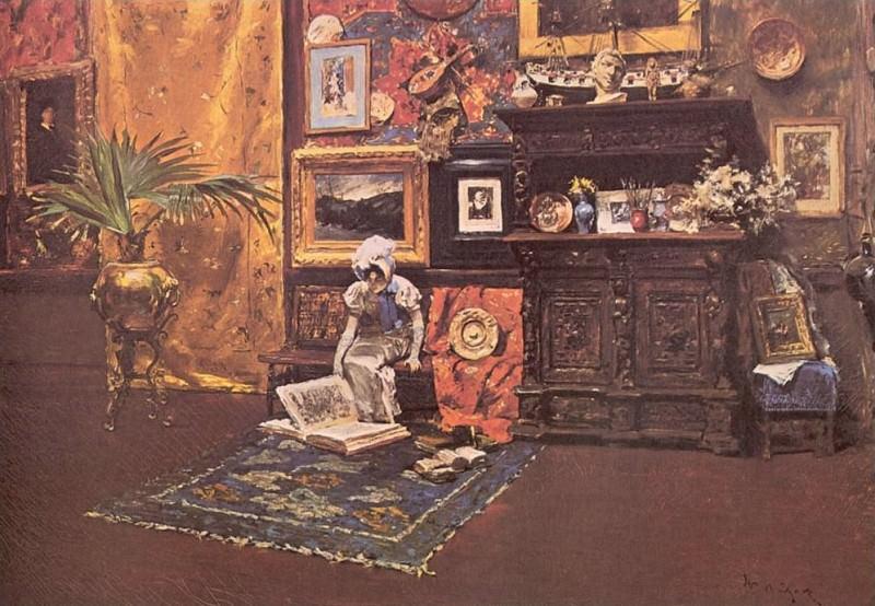 В мастерской (1880). Уильям Меррит Чейз