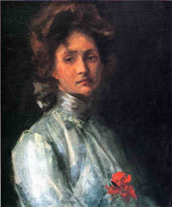 Portrait of a Young Woman. William Merritt Chase