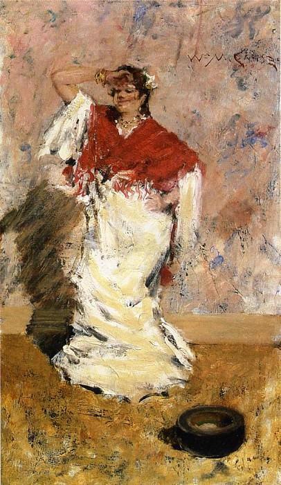 Танцующая девушка. Уильям Меррит Чейз