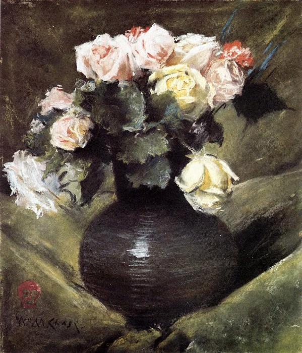 Цветы или Розы. Уильям Меррит Чейз