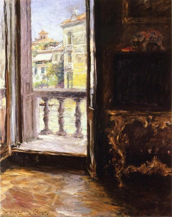 Венецианский балкон. Уильям Меррит Чейз