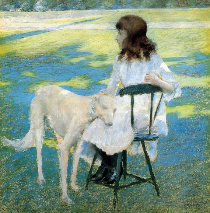Good Friends. William Merritt Chase