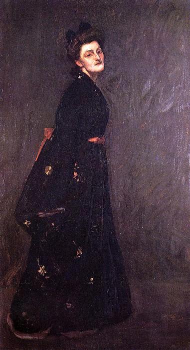 The Black Kimono. William Merritt Chase