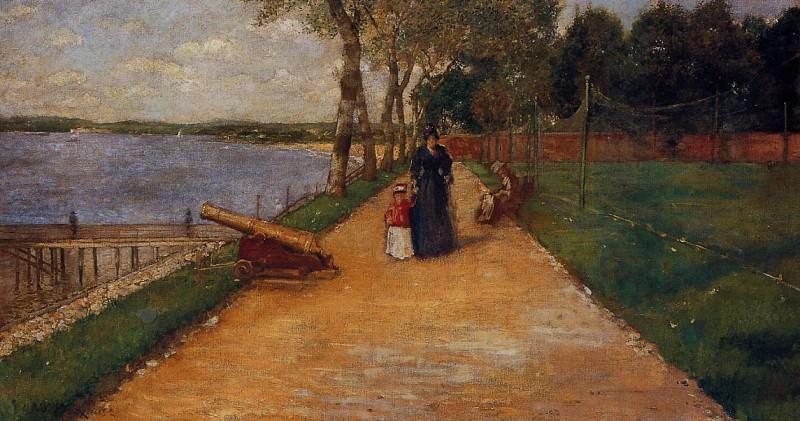 Bath Beach a Sketch. William Merritt Chase