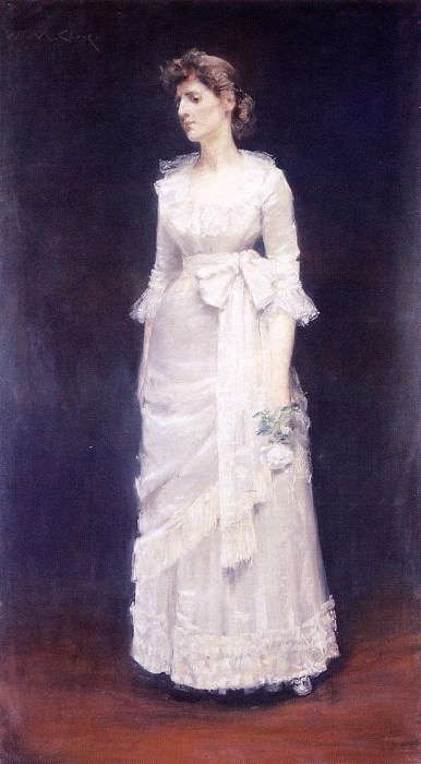 The White Rose aka Miss Jessup. William Merritt Chase