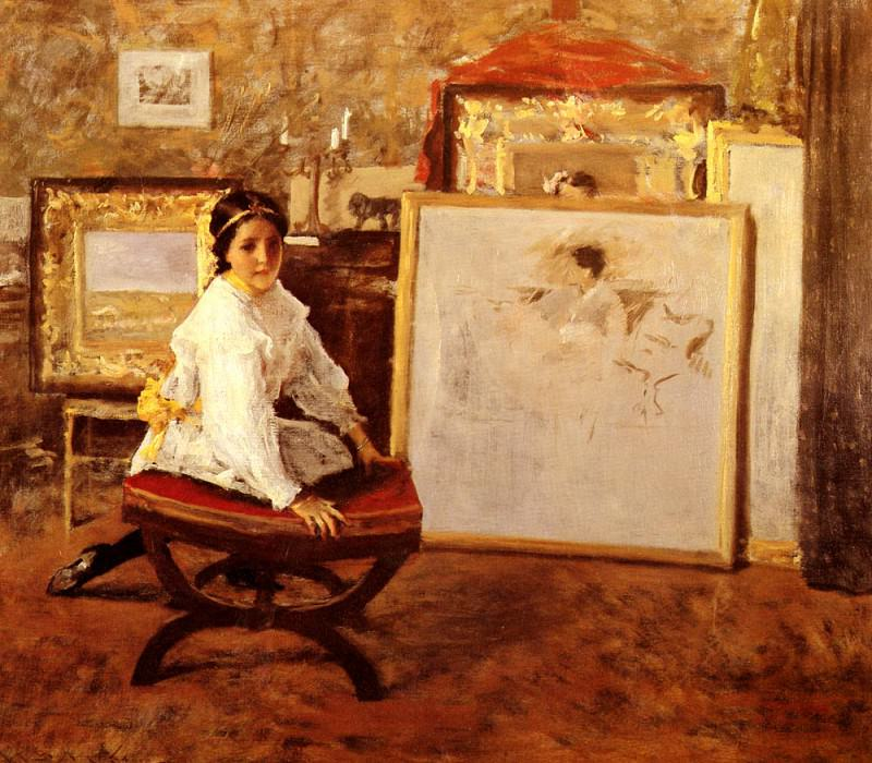Did You Speak To Me. William Merritt Chase