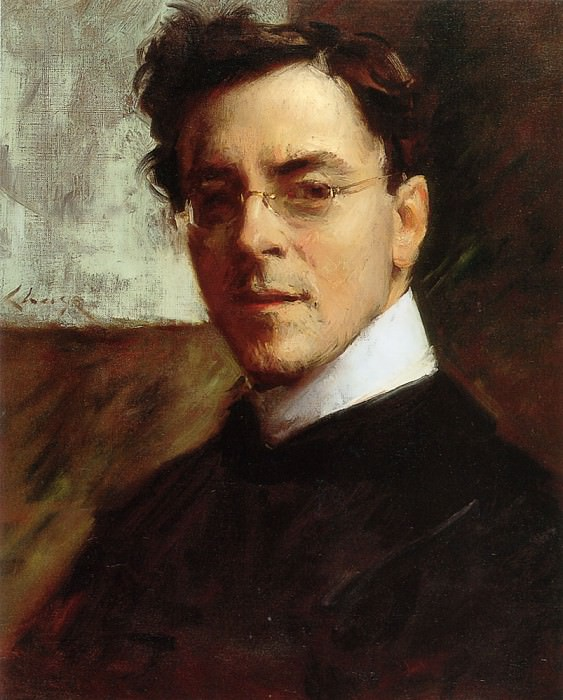 Portrait of Louis Betts. William Merritt Chase