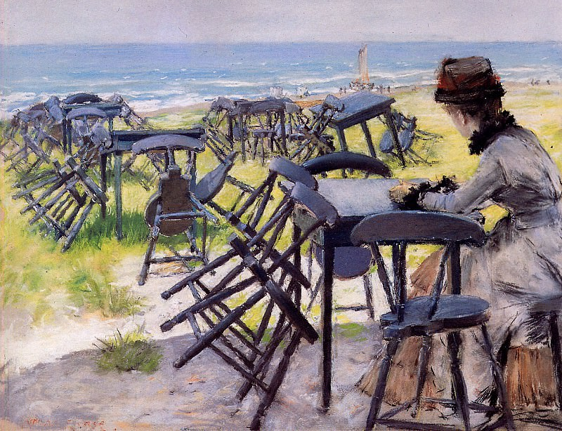 End of the season. William Merritt Chase
