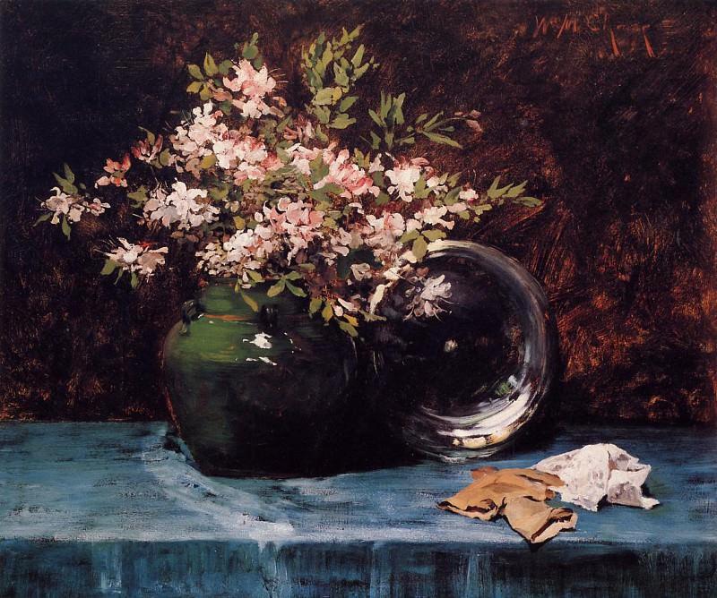 Azaleas. William Merritt Chase