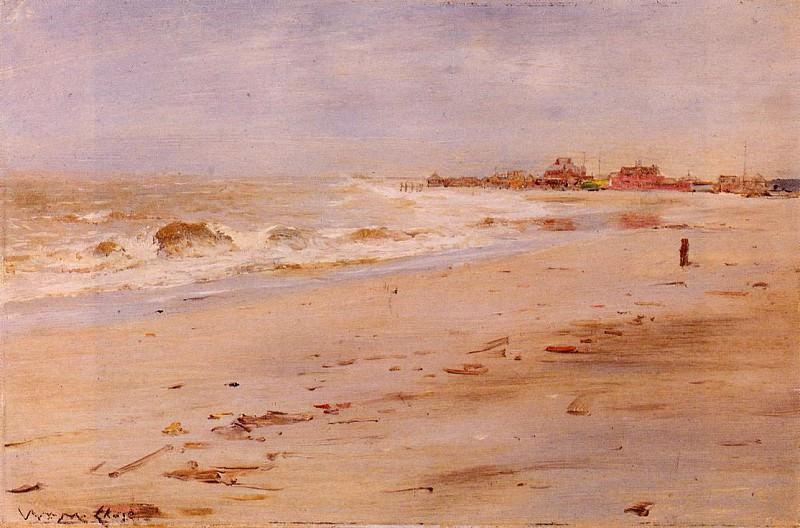 Вид на побережье. Уильям Меррит Чейз