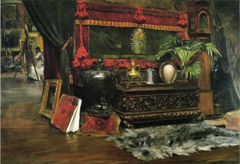 A Corner of My Studio. William Merritt Chase
