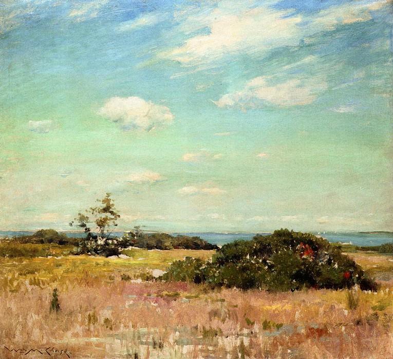 Shinnecock Hills Long Island. William Merritt Chase