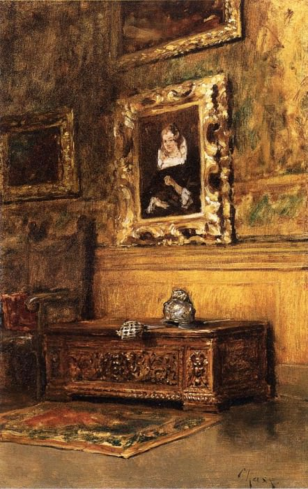 Studio Interior. William Merritt Chase