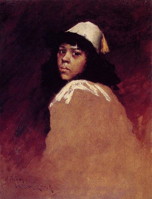 The Moroccan Girl. William Merritt Chase