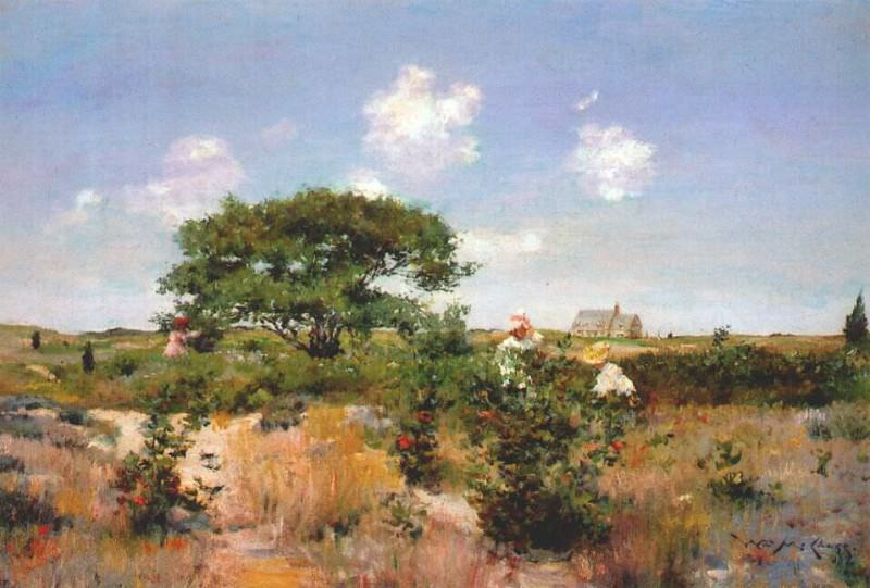 untitled (shinnecock landscape) c1892. William Merritt Chase