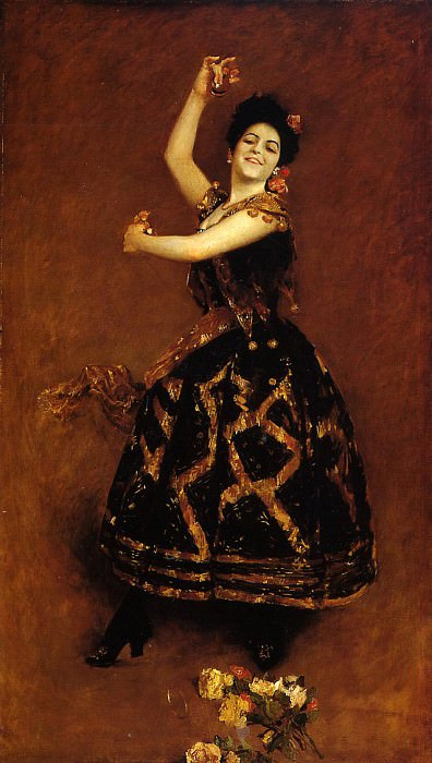 Carmencita. William Merritt Chase