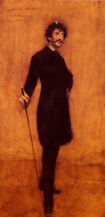James Abbott McNeill Whistler. William Merritt Chase