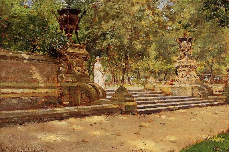 Prospect Park Brooklyn. William Merritt Chase