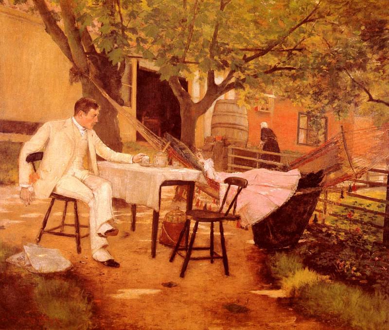 Sunlight and Shadow. William Merritt Chase