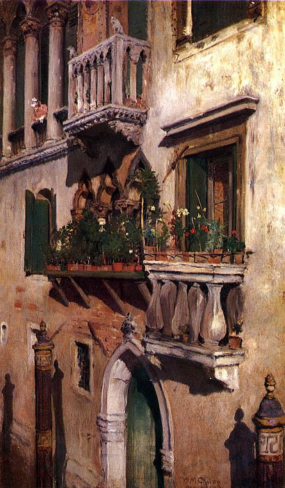 Venice 1877. William Merritt Chase