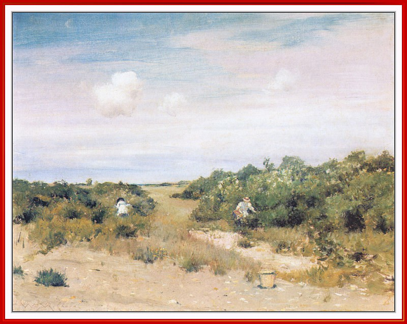 ShinnecockHills LongIsland. William Merritt Chase