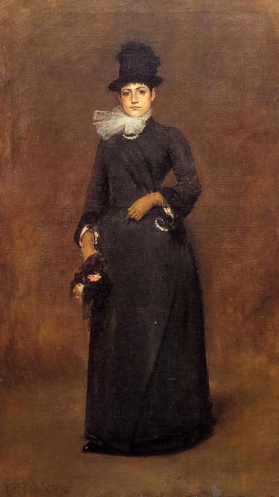 Ready for a Walk Beatrice Clough Bachmann. William Merritt Chase