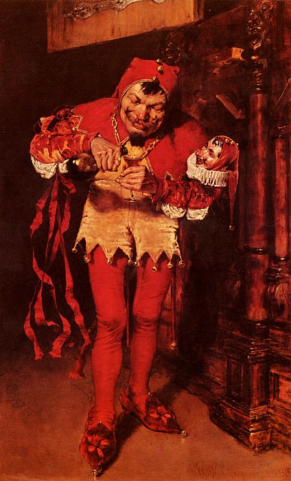 Keying Up-TheCourt Jester. William Merritt Chase