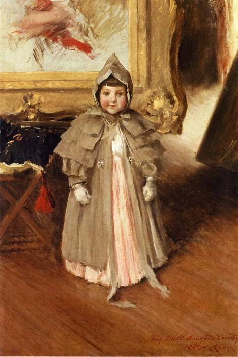 Моя маленькая дочь Дороти. Уильям Меррит Чейз