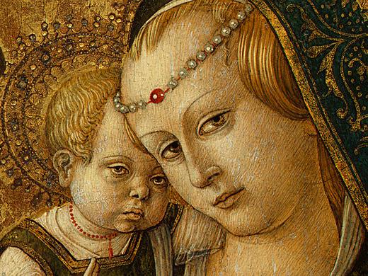 Madonna and Child, before 1490, Ng Washington Det(2. Carlo Crivelli