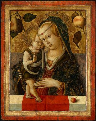 Madonna and Child, before 1490, Ng Washington. Carlo Crivelli