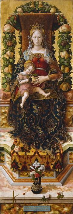 Мадонна со свечой. Карло Кривелли