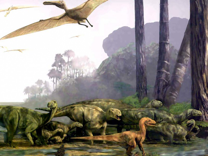 dinosaurs cretaceous. Karen Carr