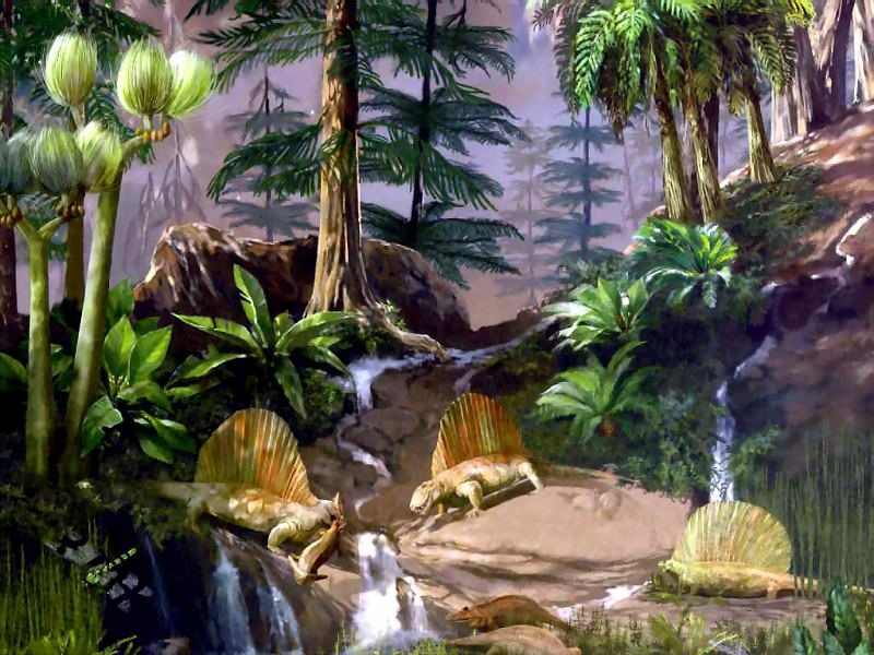 dinosaurs permian. Karen Carr