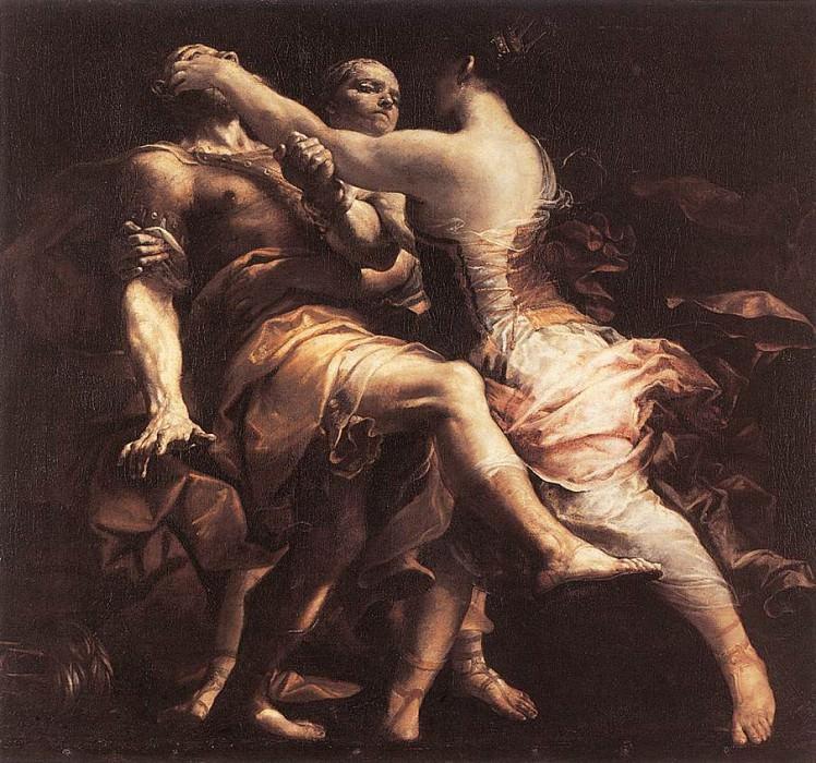 Hecuba Blinding Polymnestor. Giuseppe Maria Crespi