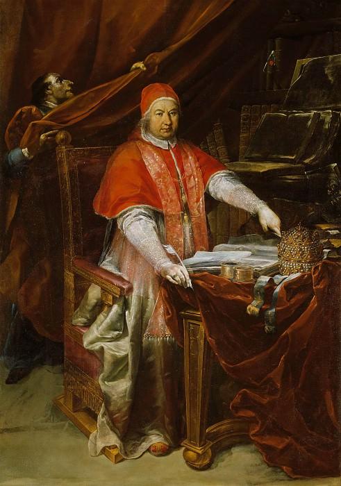 Portrait of Pope Benedict XIV (Prospero Lambertini). Giuseppe Maria Crespi