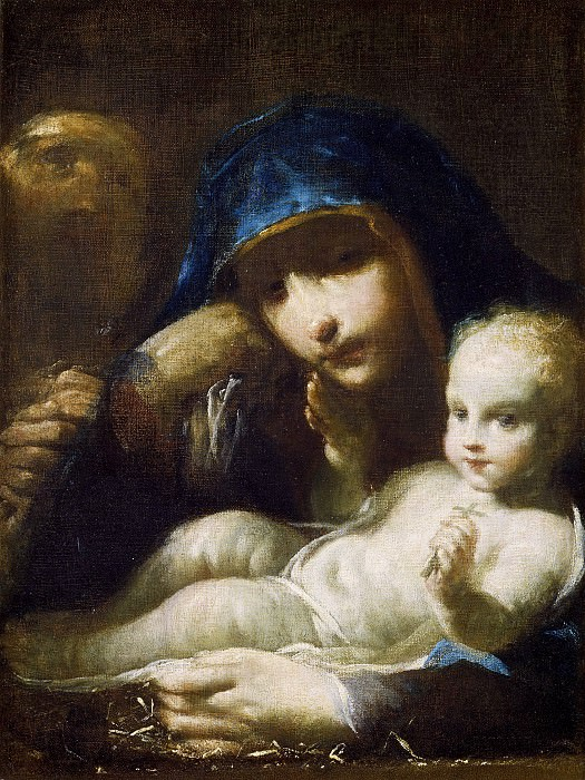 Святое Семейство. Джузеппе Мария Креспи
