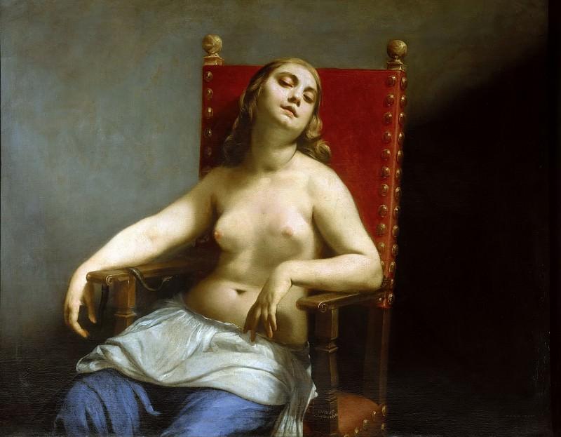 Death of Cleopatra. Guido Cagnacci