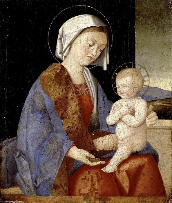 Мадонна с младенцем. Винченцо Ди Бьяджо Катена (школа)