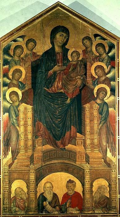 Maesta. Cimabue (Cenni Di Pepo)