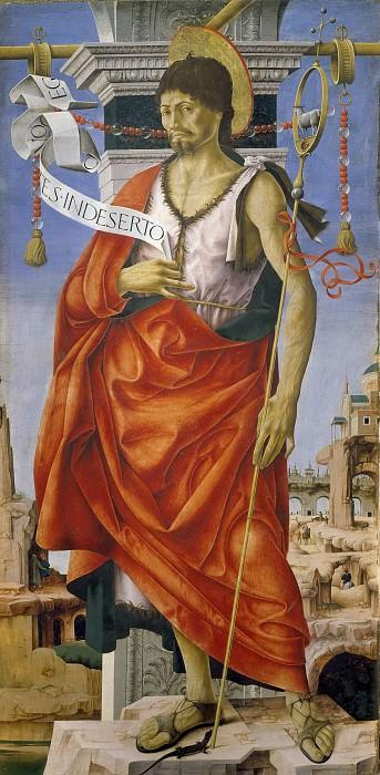 Полиптих Гриффони - Иоанн Креститель. Франческо дель Косса