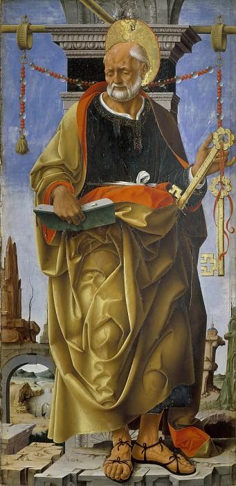 Saint Peter from Griffoni Altarpiece. Francesco del Cossa