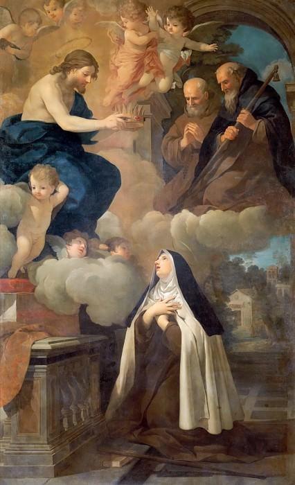Ecstasy of Saint Theresa (Attr). Pietro da Cortona