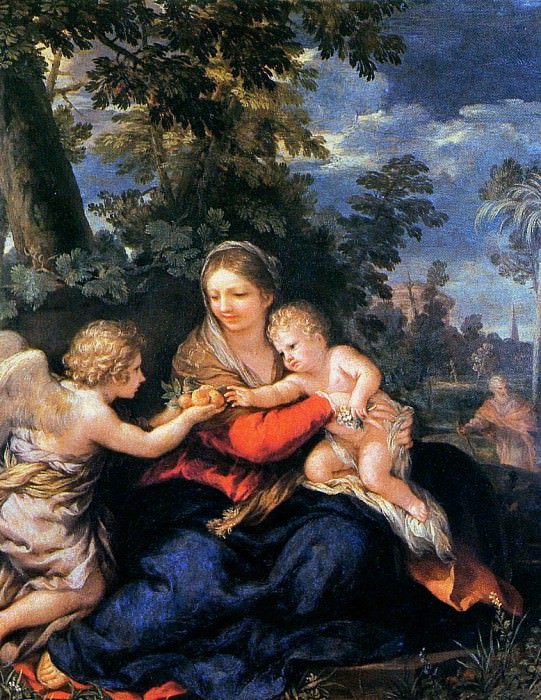The holy family. Pietro da Cortona