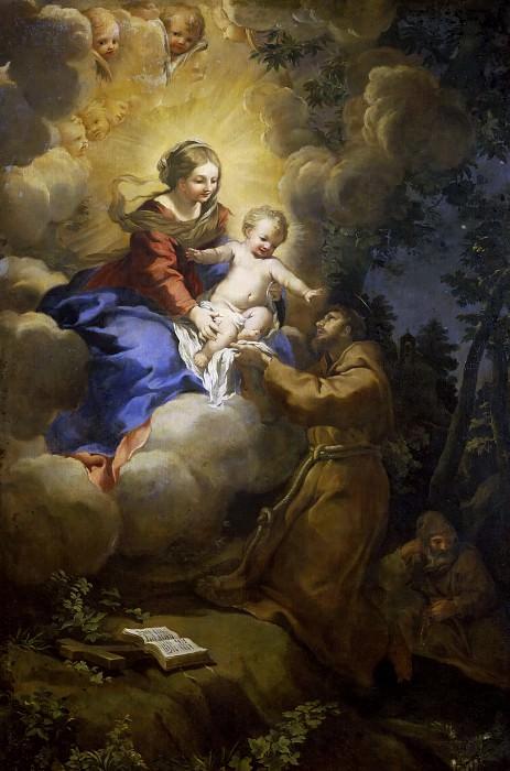 Видение святого Франциска. Пьетро да Кортона