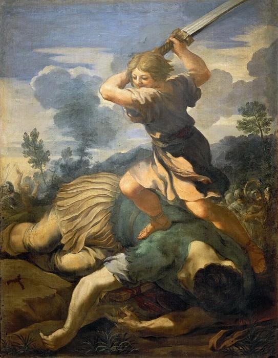 David Slays Goliath. Pietro da Cortona